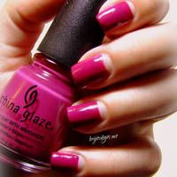 The Crumpet: GOT Polish Challenge - Pink #prom nail art