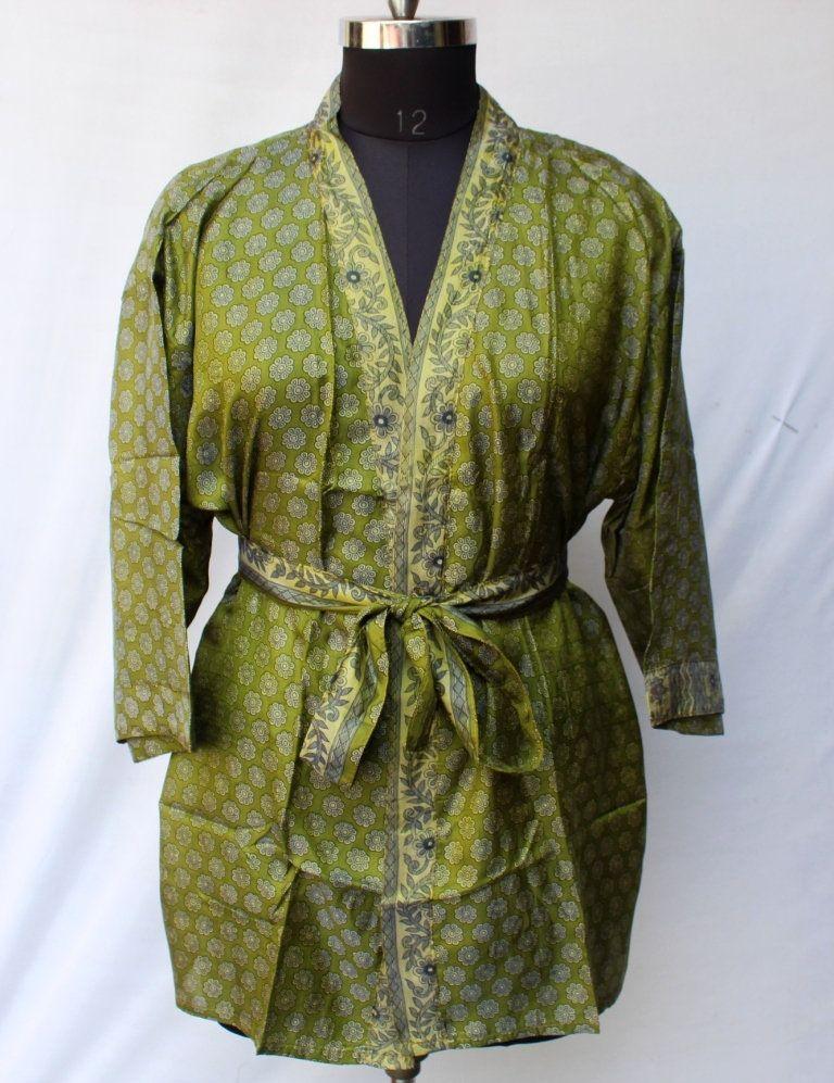 Women Luxury Mid Calf Smooth Robe Robe with Elegant Bridal Wear Bridesmaid Wedding kimono High-quality Lingeries #MKS 102