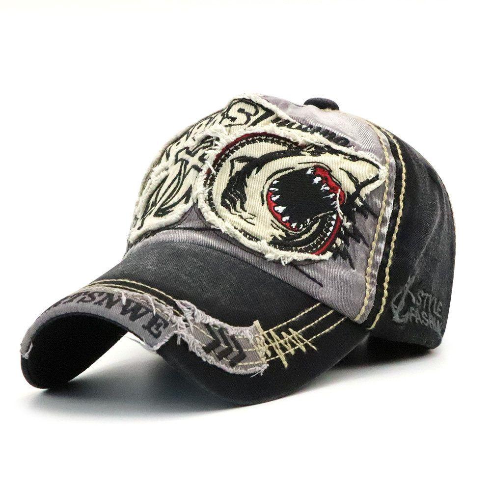 1b565bbd610 Mens Vintage Adjustable Cotton Washed Baseball Cap Outdoor Sunshade Hat -  NewChic