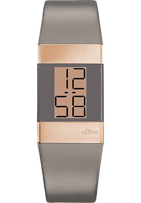 e0f4737e856 s.Oliver - SO-2950-LD - Montre Femme - Quartz Digitale - Bracelet ...