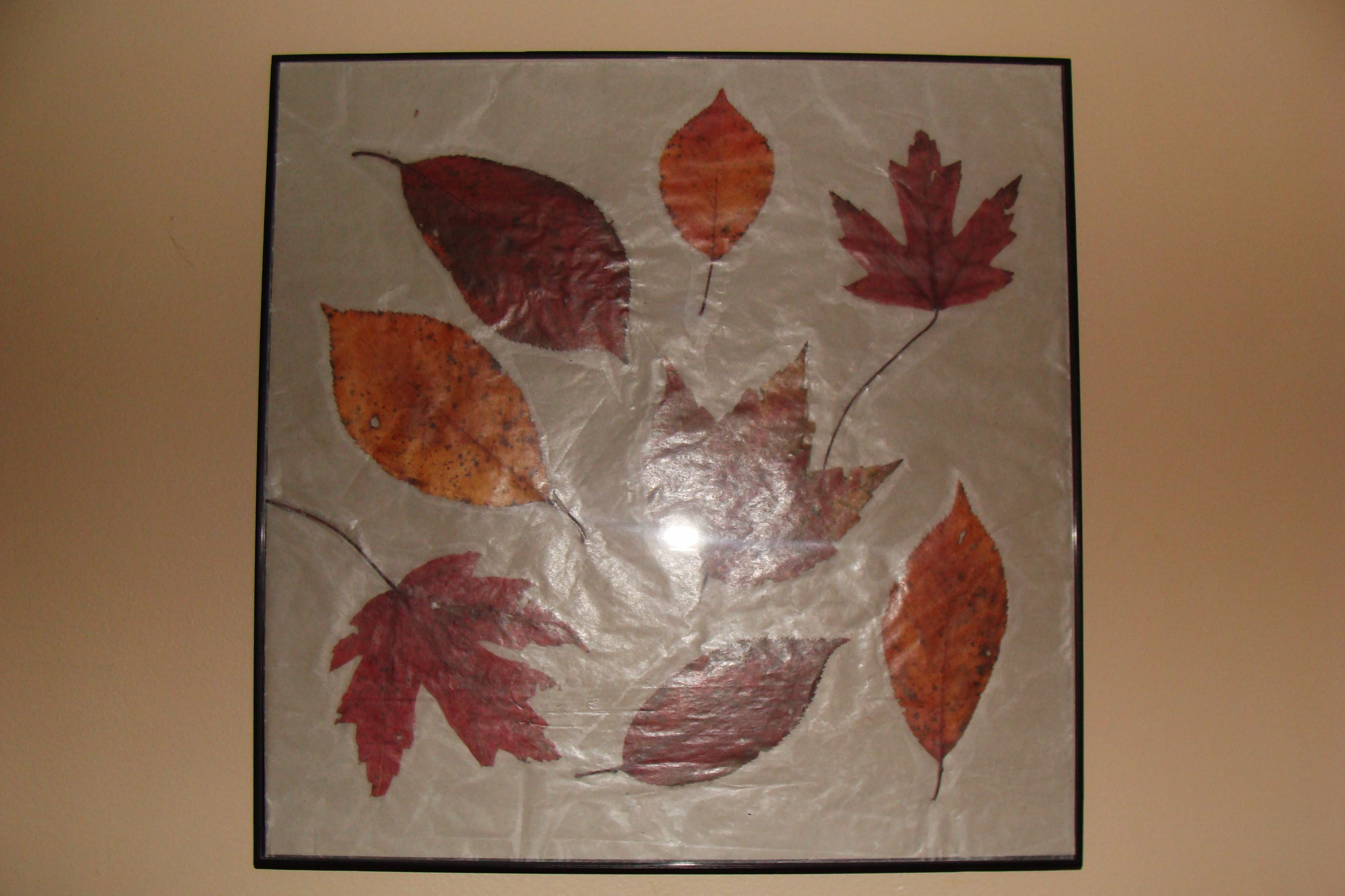 26++ Wax paper crafts with leaves ideas in 2021