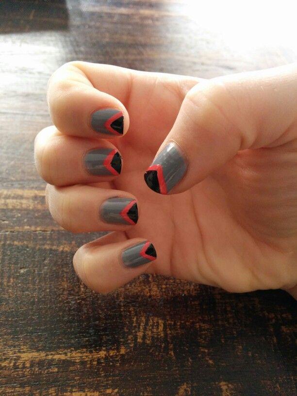 Grijs, roze&zwart