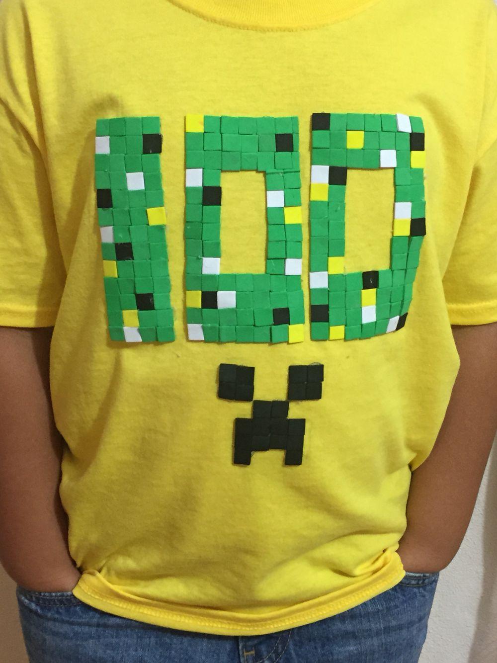 Roblox 100 Days Of School Shirt