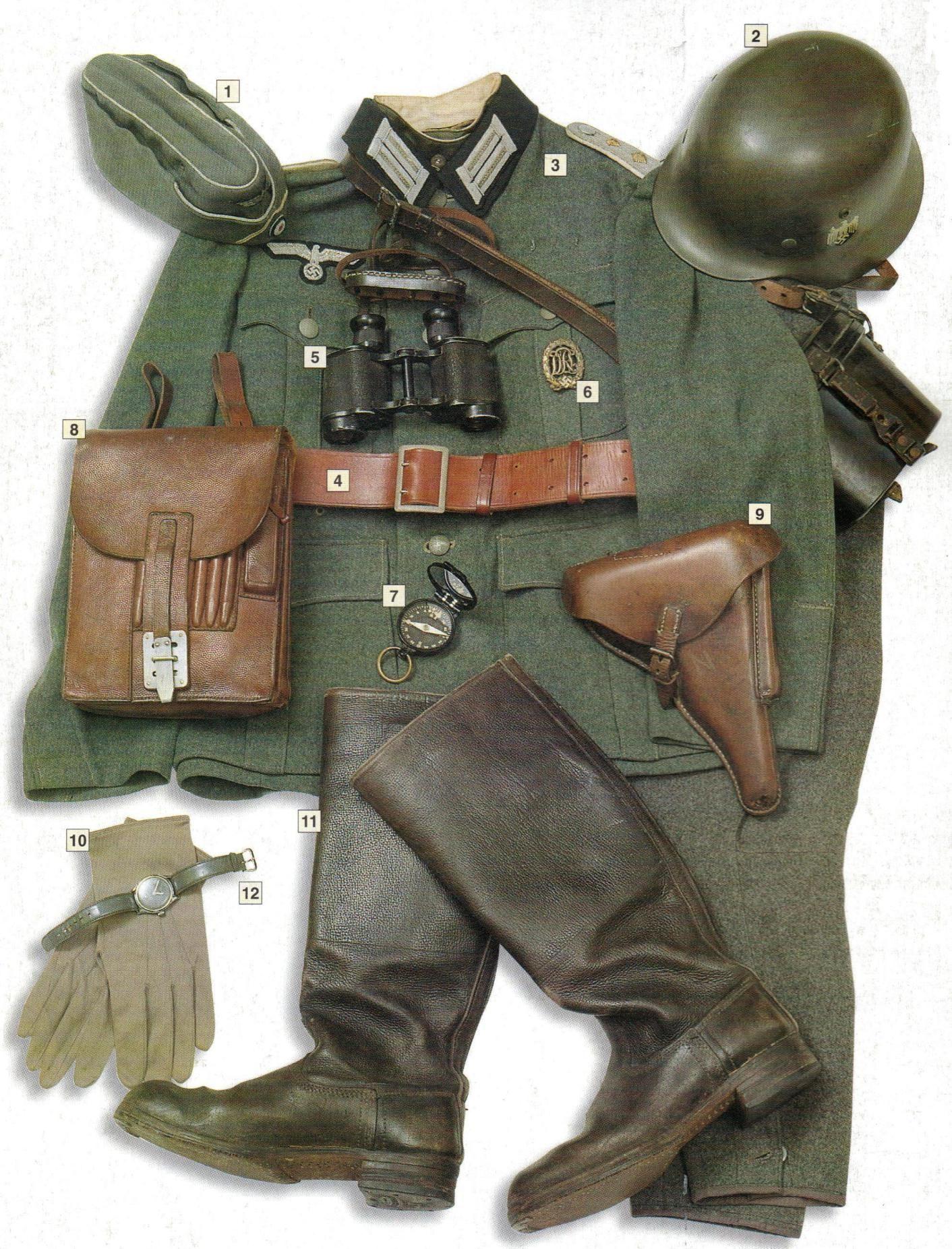 Uniform Guide German Uniforms Wwii German Uniforms Wwii