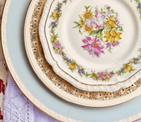 Bizbash Design Trend Vintage Tableware Rentals Feat The Vintage Table Co Vintage Tableware Tableware Vintage China