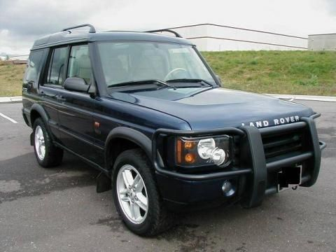 2004 Land Rover Discovery Interior | 2004 Land Rover Discovery Se7 Interior  Oslo Blue Land Rover