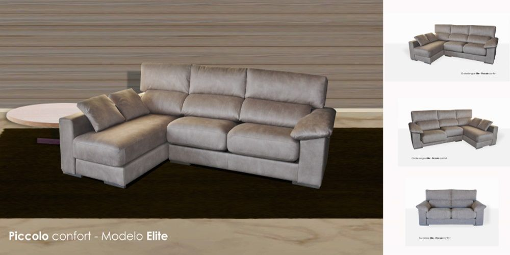 Elite chaise longue pvp sof viscoel stica for Muebles lopez arevalo