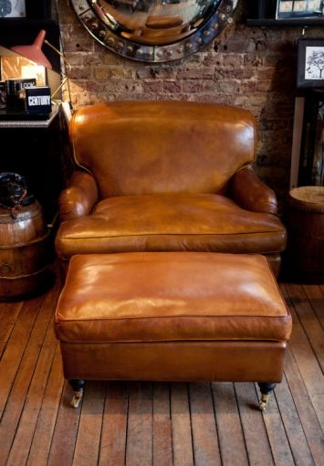 oversize howard chair - tann rokka I am not a fan of leather stuff but this is so beautiful