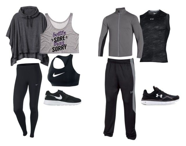 His Hers Workout Wear By Frankyj On Polyvore Featuring Athleta