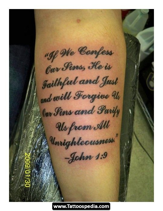 Bible scripture tattoo pictures 06 http tattoospedia for Bible verse tattoos on arm