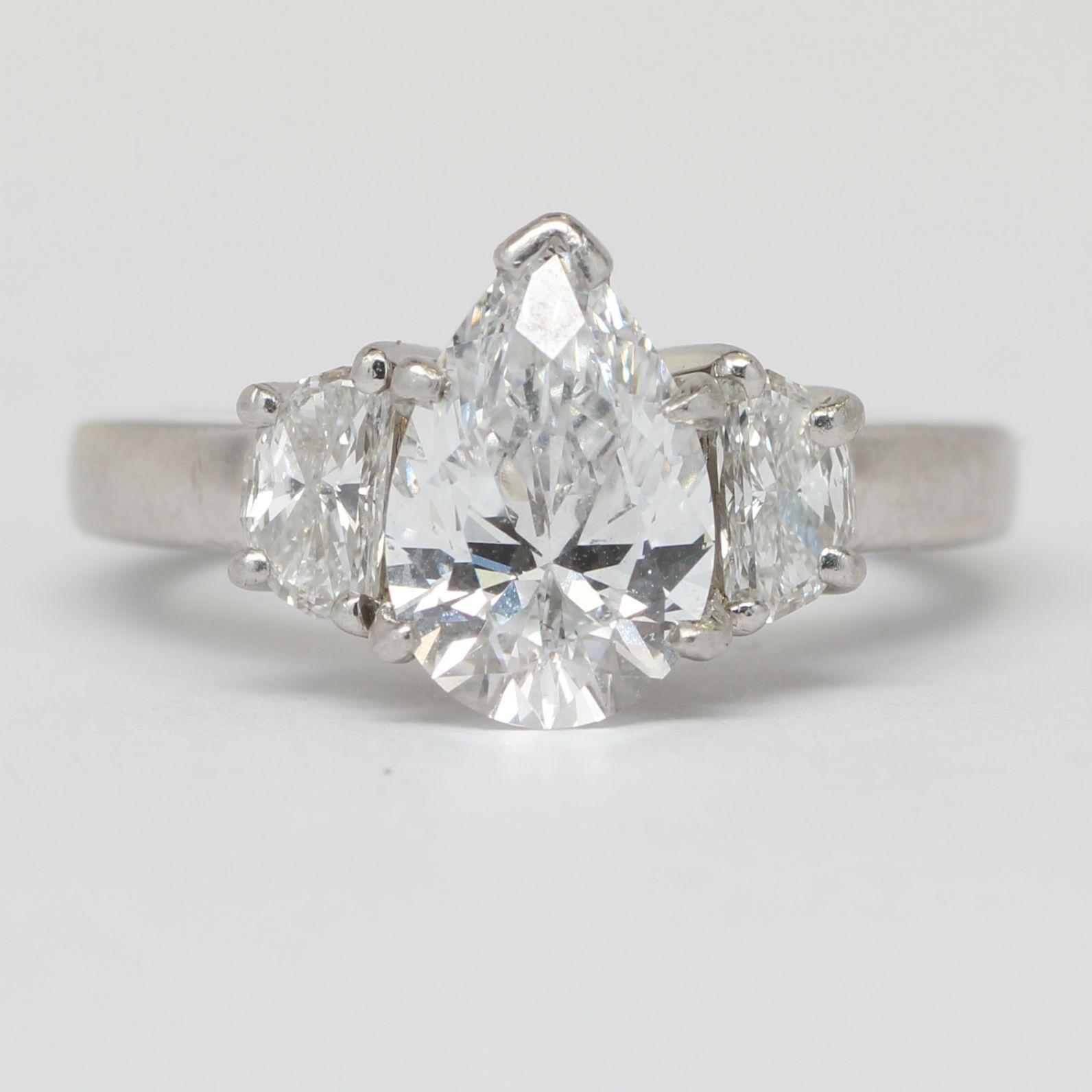 ctw gia certified pear diamond engagement ring max u hopeus
