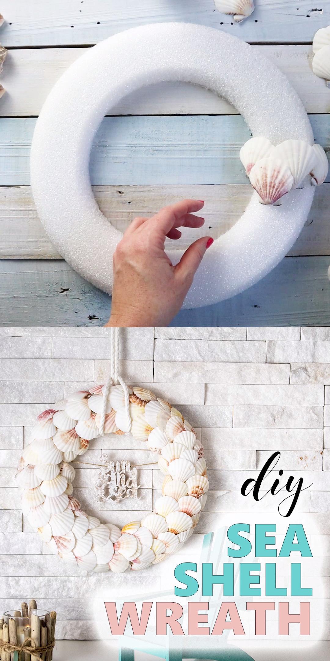 Photo of Seashell Wreath