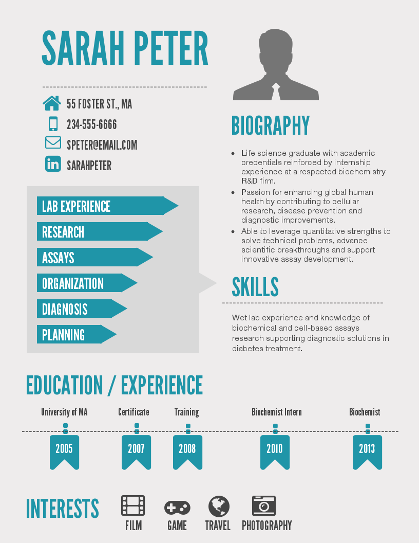 Infographic Resume Template Infographic resume