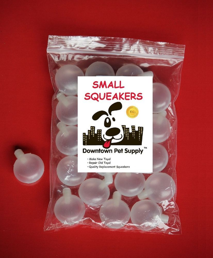20 Small Replacement Squeakers Squeekers Dr Noys Repair Fix Dog