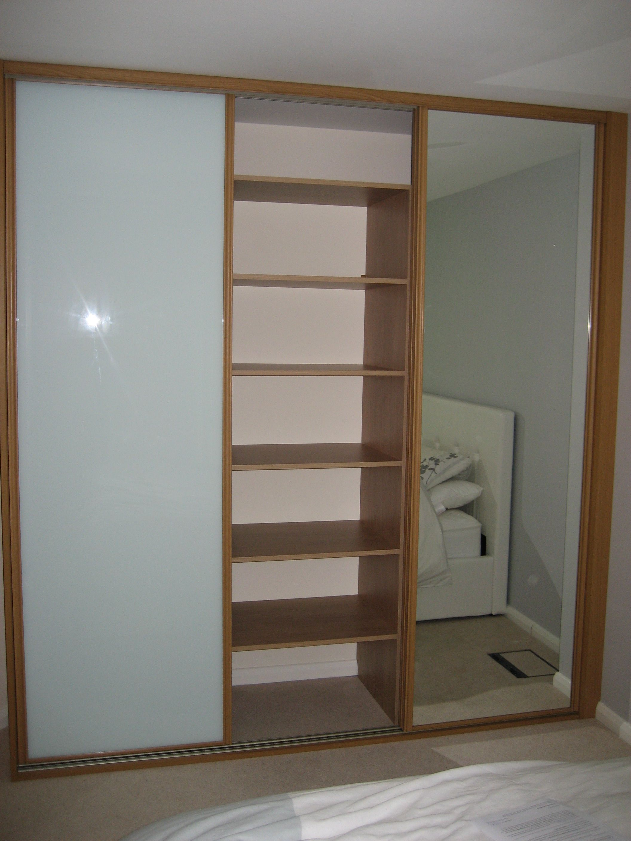 Another Example Of A Two Door Wardrobe Sliding Open
