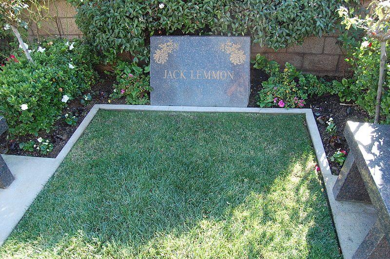 Jack Lemmon's grave