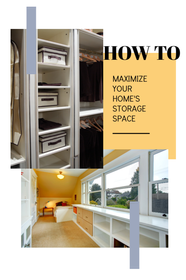 How To Maximize Your Home S Storage Space Storage Spaces