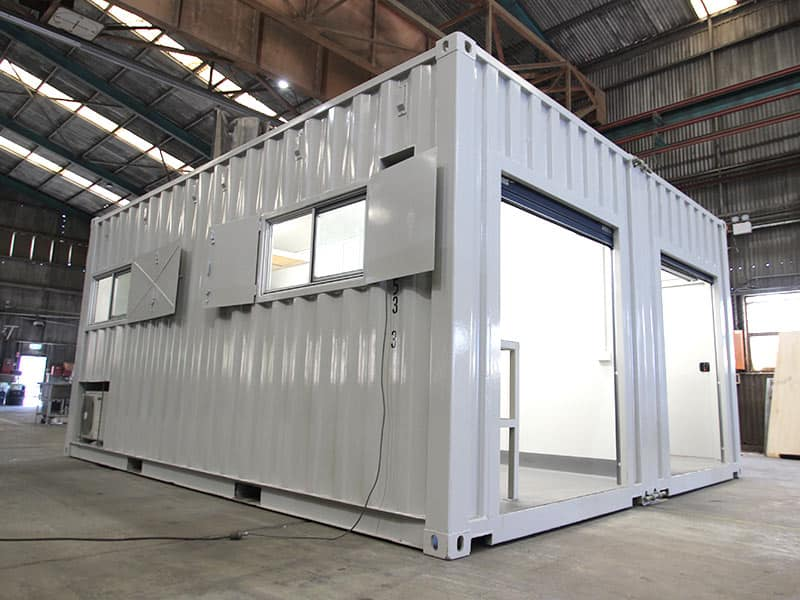 Shipping Container Laboratory Shipping Container Container Custom Build