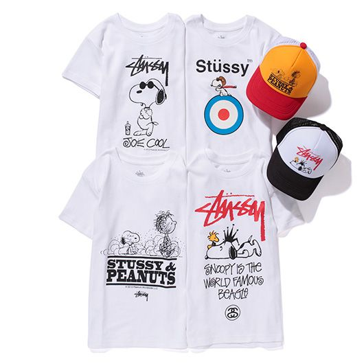 881cd761 Stussy x Peanuts Capsule Collection | Design x Snoopy | Stussy ...