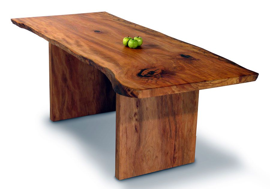 Small Sycamore Dining Table | Handmade Dining Table | David Stine ...