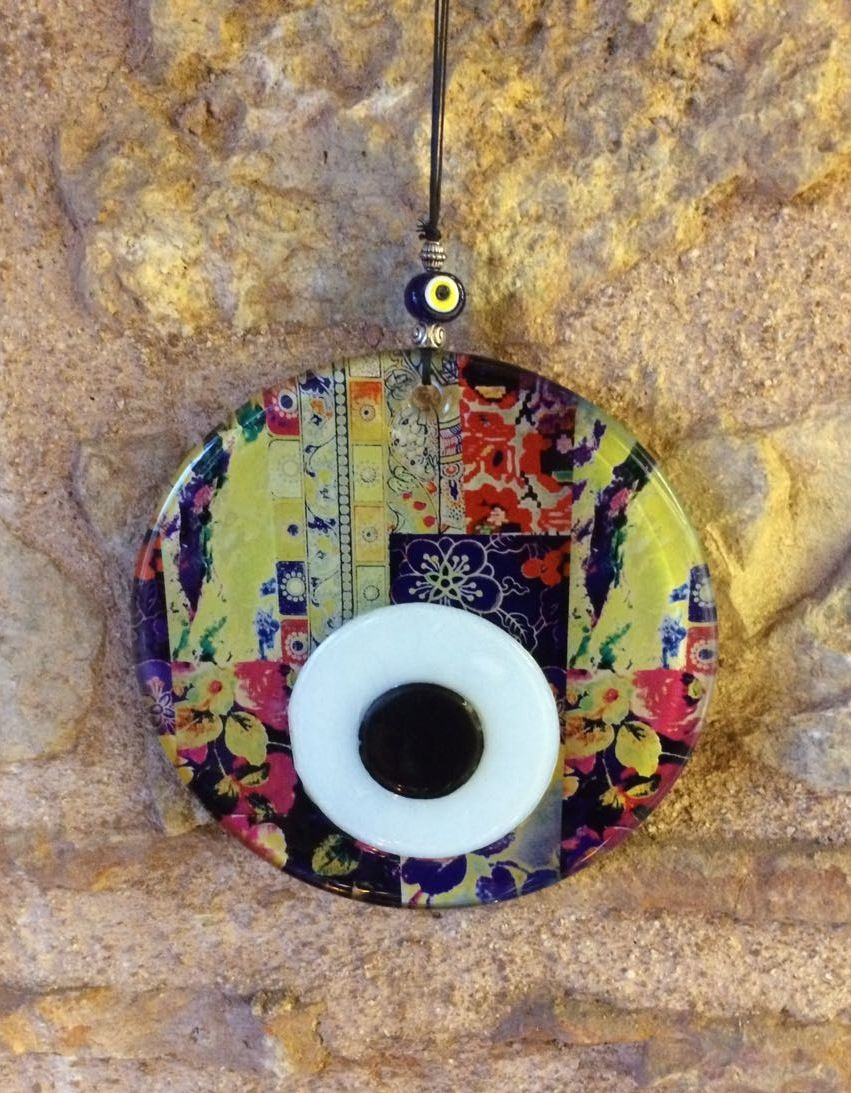 Handmade evil eye wall decor 15 cm 59 0017 evil eye lucky handmade evil eye wall decor 15 cm 59 amipublicfo Gallery