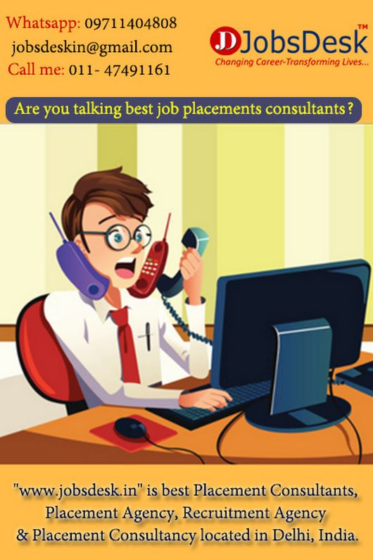 Jobs Desk is leading Recruitment Agencies  Placement Services for