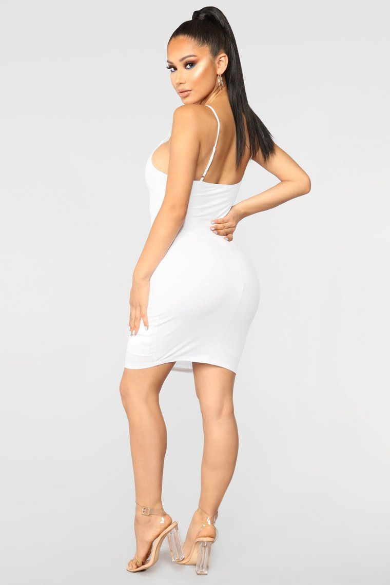 Vegas Go To Dress White White Dress Dresses Fashion Nova Outfits [ 1140 x 760 Pixel ]