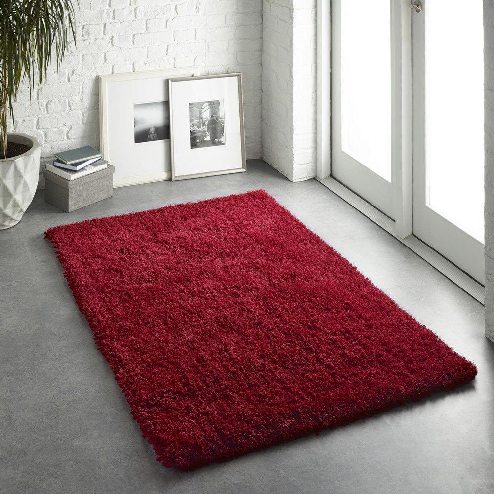 Buy Chicago Online Red Rug Rugs Seller Shaggy White Shaggy Rugs Living Room In 2020 Rugs In Living Room Orange Rugs Rugs