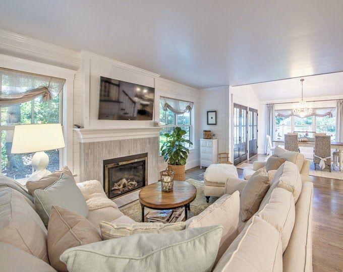 Beautiful Cape Cod Home Long Living Room Long Living Room Layout Livingroom Layout