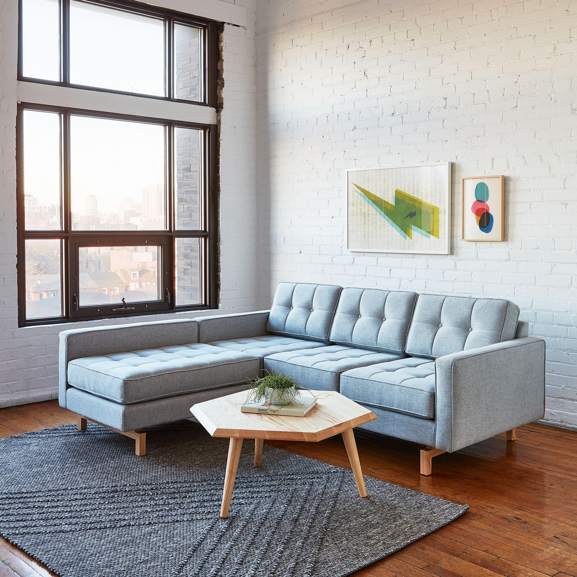 Jane 2 Bi Sectional Furniture Home Decor Gus Modern Furniture