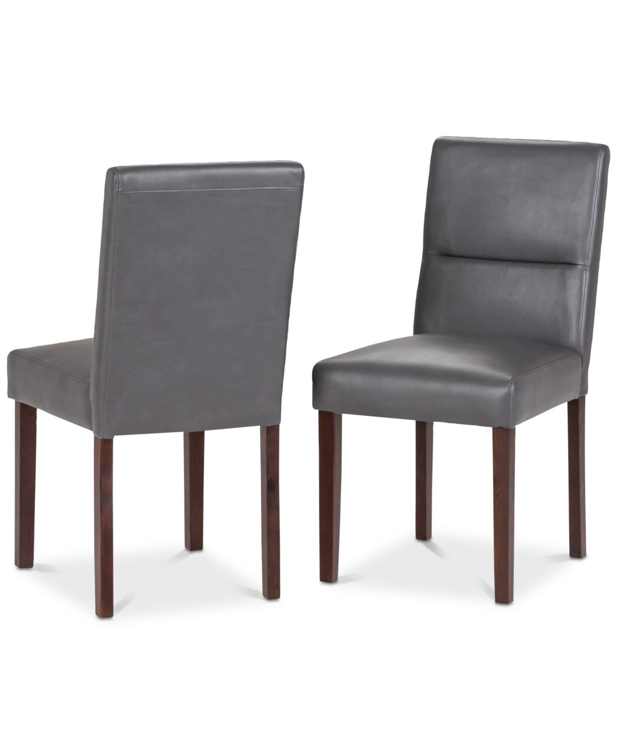 Simpli Home Norvan Dining Chair Set Of 2 Reviews Furniture Macy S Dining Chairs Dining Chair Set Simpli Home