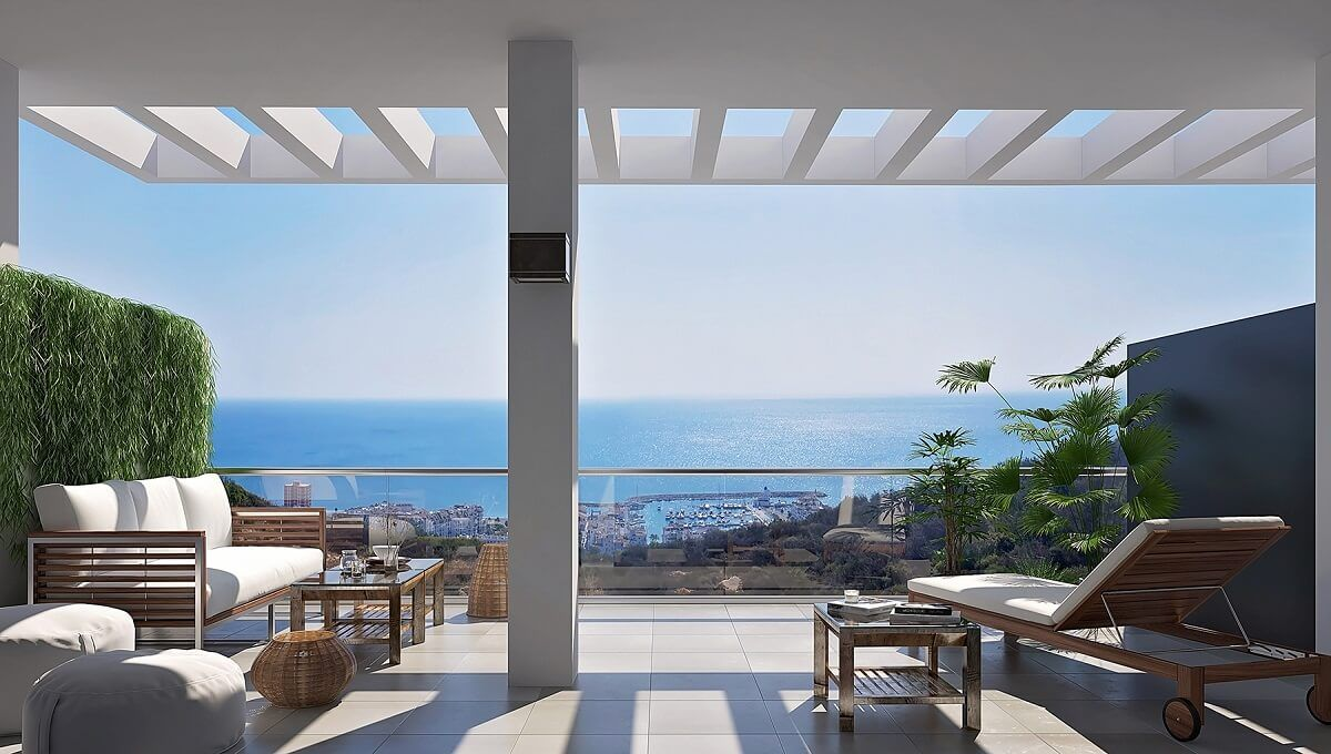Stunning Apartments For Sale In Blue Sunset La Duquesa Costa Del Sol Apartments For Sale Penthouse For Sale Apartment Garden