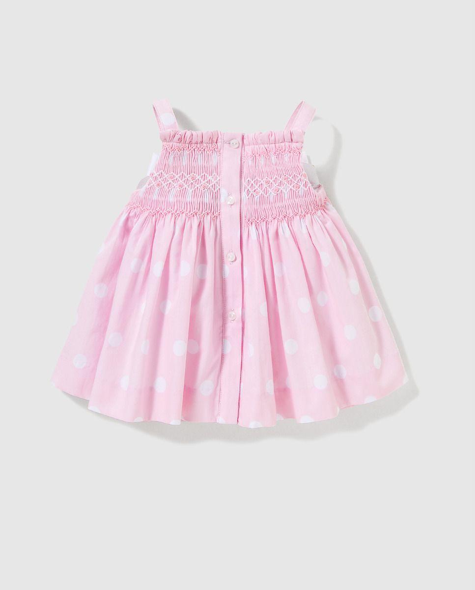 9ea7cb7b0 Vestido de bebé niña Dulces en rosa con lunares · Dulces · Moda · El Corte  Inglés