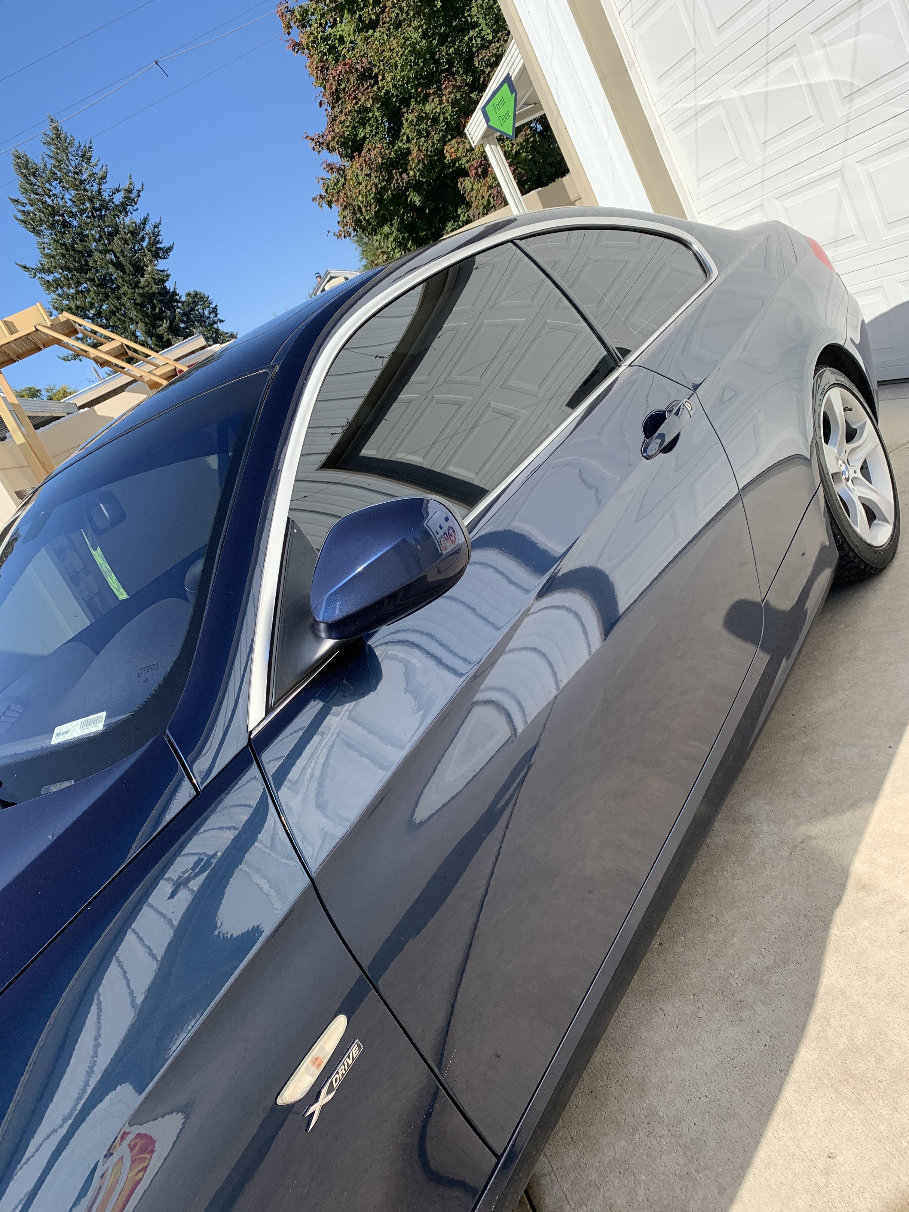 2013 Bmw 335i Tinted Windows Clear Bra Spokane