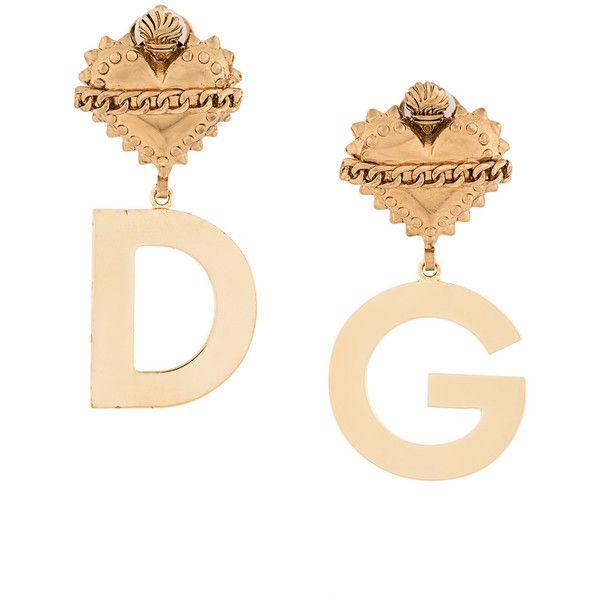 Sacred Heart earrings - Metallic Dolce & Gabbana q5f8pA