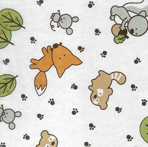 Trend Lab Crib Sheet Forest Animal Flannel Crib Sheets