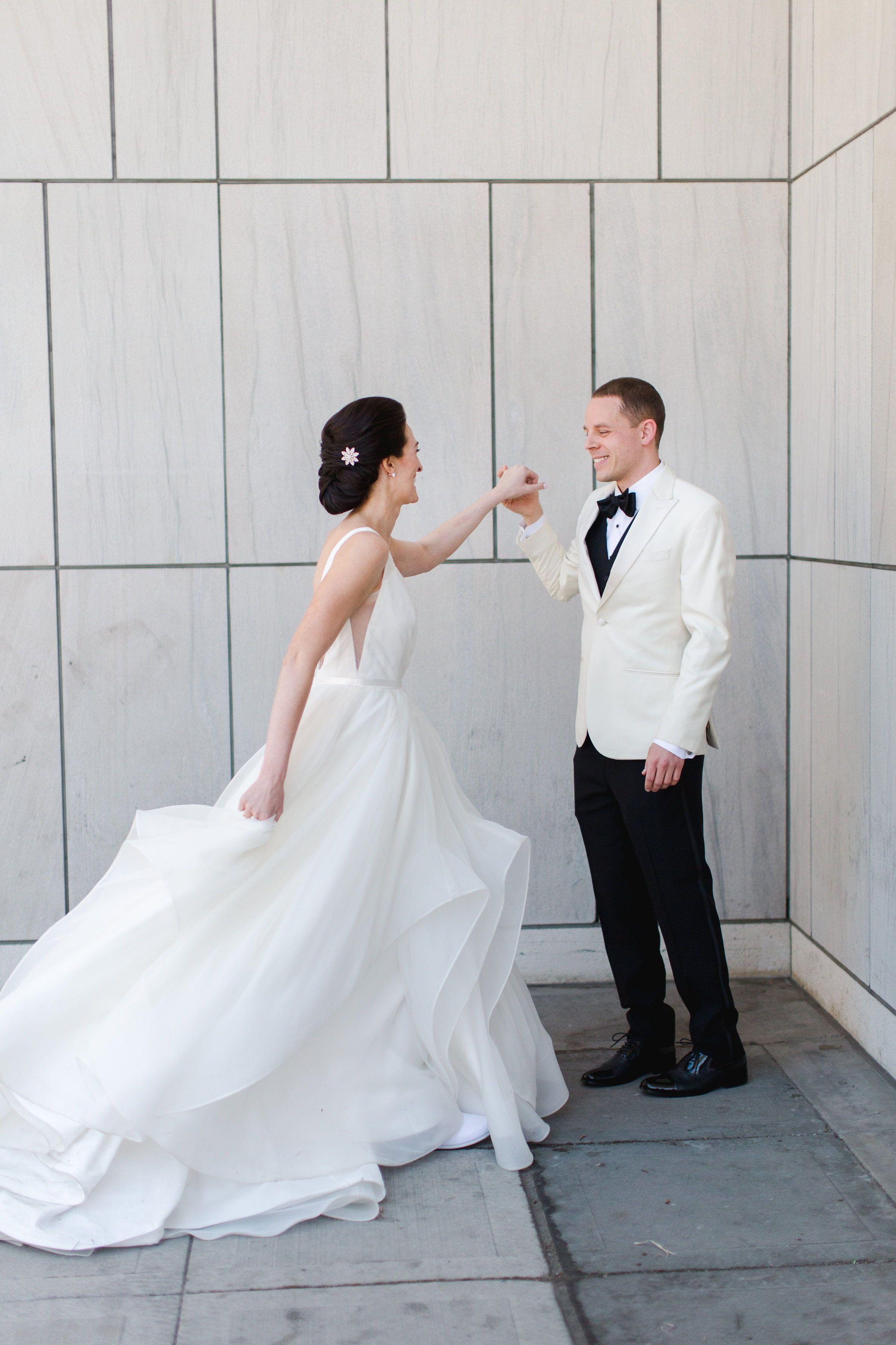 Real Wedding Jenny + Travis  Modern + Classic Minneapolis ...
