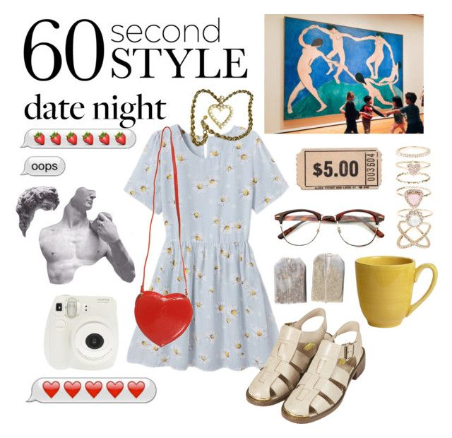 """""""Date night at the museum"""" by squalada ❤ liked on Polyvore featuring Topshop, Fuji, Pier 1 Imports, Givenchy, Accessorize, women's clothing, women, female, woman and misses"""