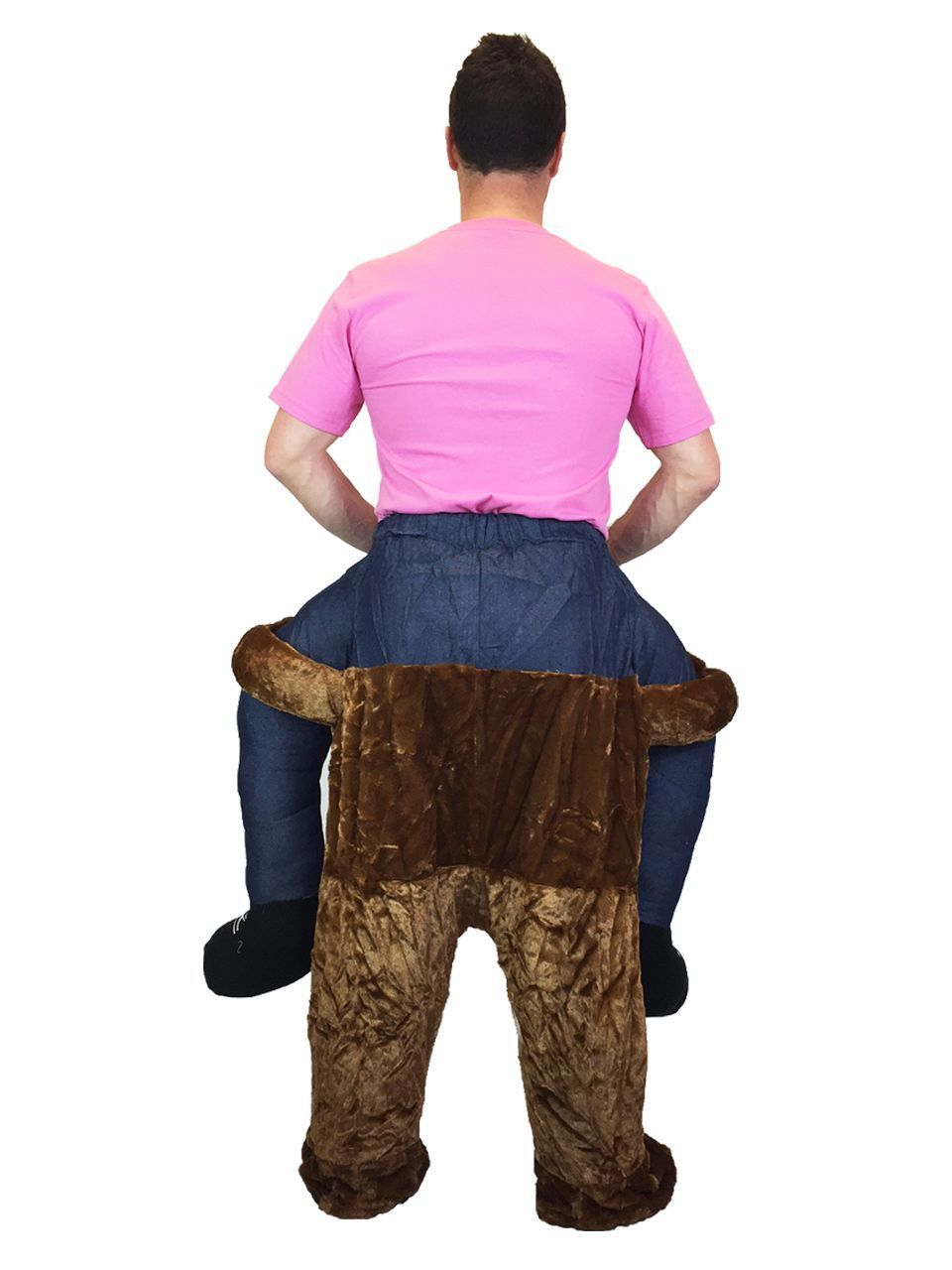 Piggy Back Leprechaun Creative Funny Adult Costume One Size Fancy Dress Party
