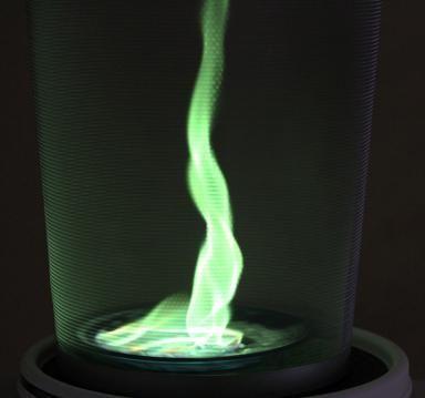 Green Fire Whirlwind Fire Tornado Green Fire Flame Art