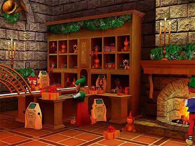 Fabrica De Juguetes De Santa Claus Buscar Con Google