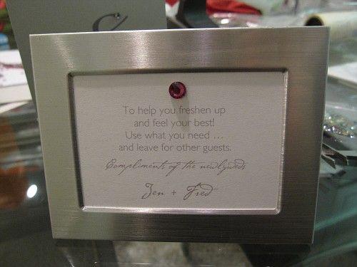 Bathroom Basket Poems Show Me Your Wording Project Wedding Forums