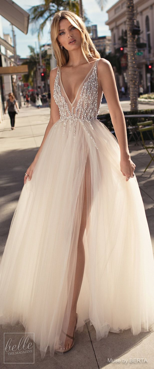 aab98ed65123 MUSE by BERTA Spring 2019 Wedding Dresses - City of Angels Bridal Collection