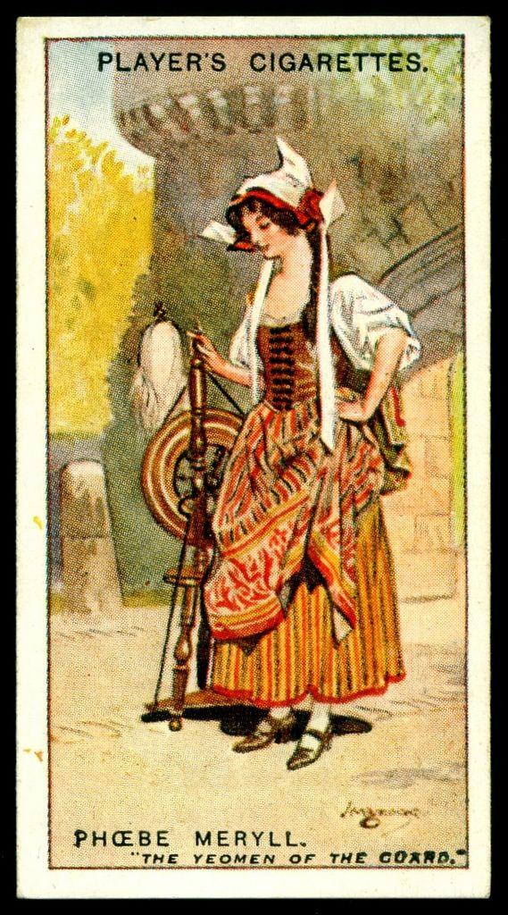 "https://flic.kr/p/hi9jz5 | Cigarette Card - Phoebe Meryll | Player's Cigarettes  ""Gilbert & Sullivan"" (A series of 50 issued in 1925) #48 Phoebe Meryll ~ The Yeomen of the Guard"