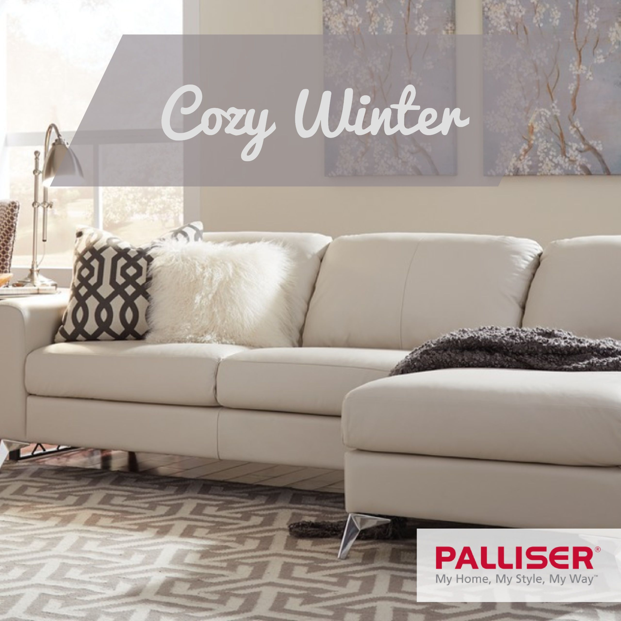 Cozy Home Theater: Keep Your Home Cozy This Winter With A Leather Sofa, Like
