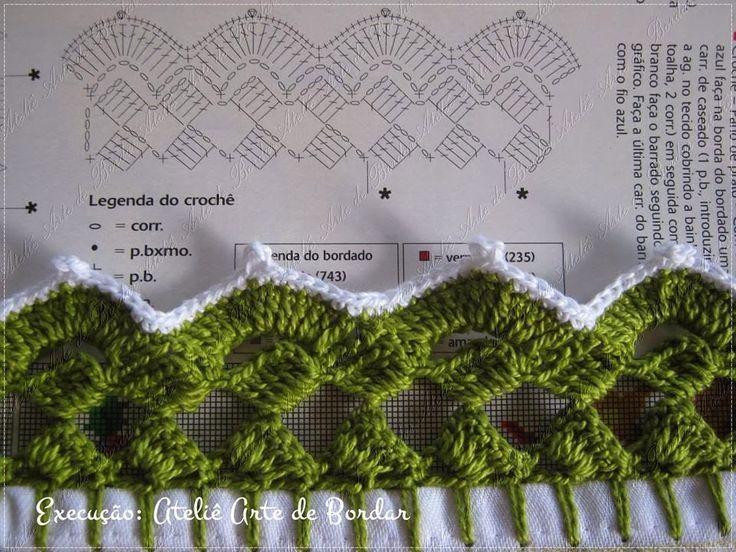 Grafico Bico De Croche Carreira Unica Pesquisa Google Bico