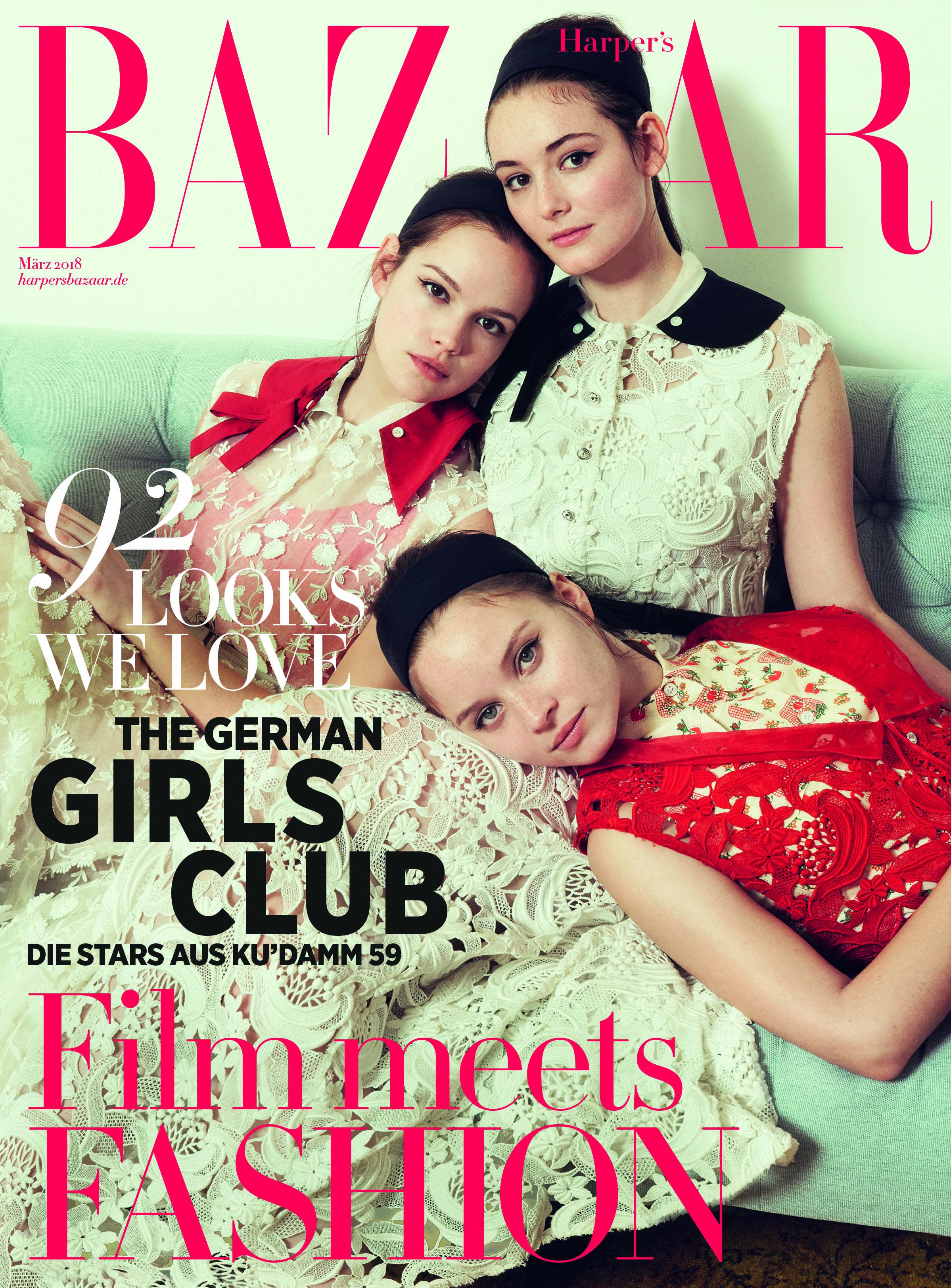 Photo of Harper's BAZAAR: German actresses in the March issue