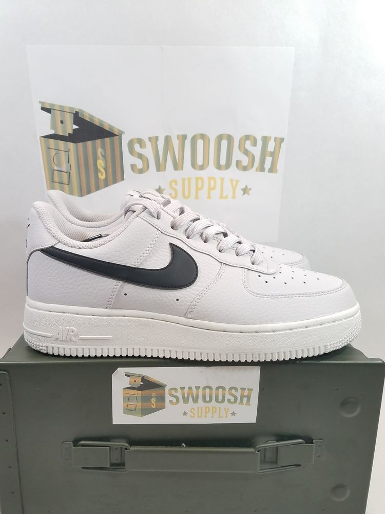 best loved 3714c 241e3 New Nike Air Force 1  07 Low Mens Shoes Size 7 Vast Grey Black White AA4083  008  Nike  BasketballShoes