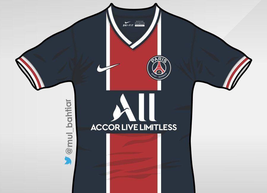 Paris Saint Germain 2020 21 Home Kit Prediction Psg Parissaintgermain Teampsg Mul Bahtiar Paris Saint Paris Saint Germain Saint Germain
