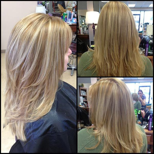Beautiful Layers Are They Angled For Volume At The Crown To